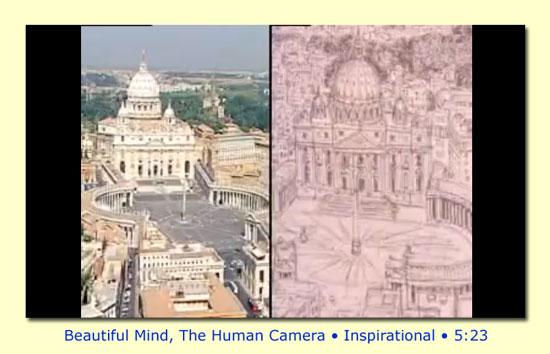Beautiful Mind, the Human Camera