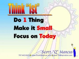 Think 1st for goal setting and problem solving